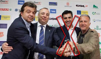 Nico Rodriguez destituido de UD Las Palmas