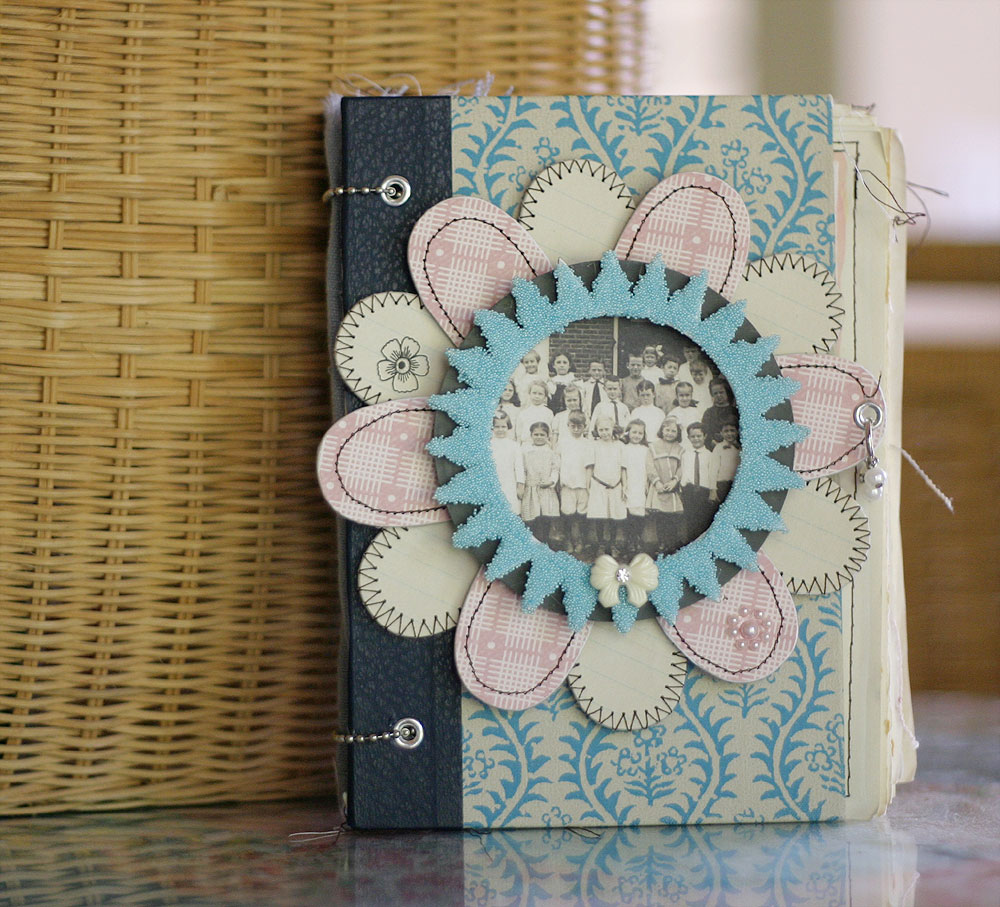Creative Handmade Book Cover Designs ~ Jbs inspiration journal by kerry lynn yeary