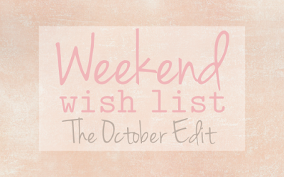 Weekend Wish List – The Best of 2015