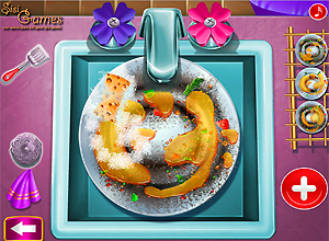 Ellie Dish Washing Real Life
