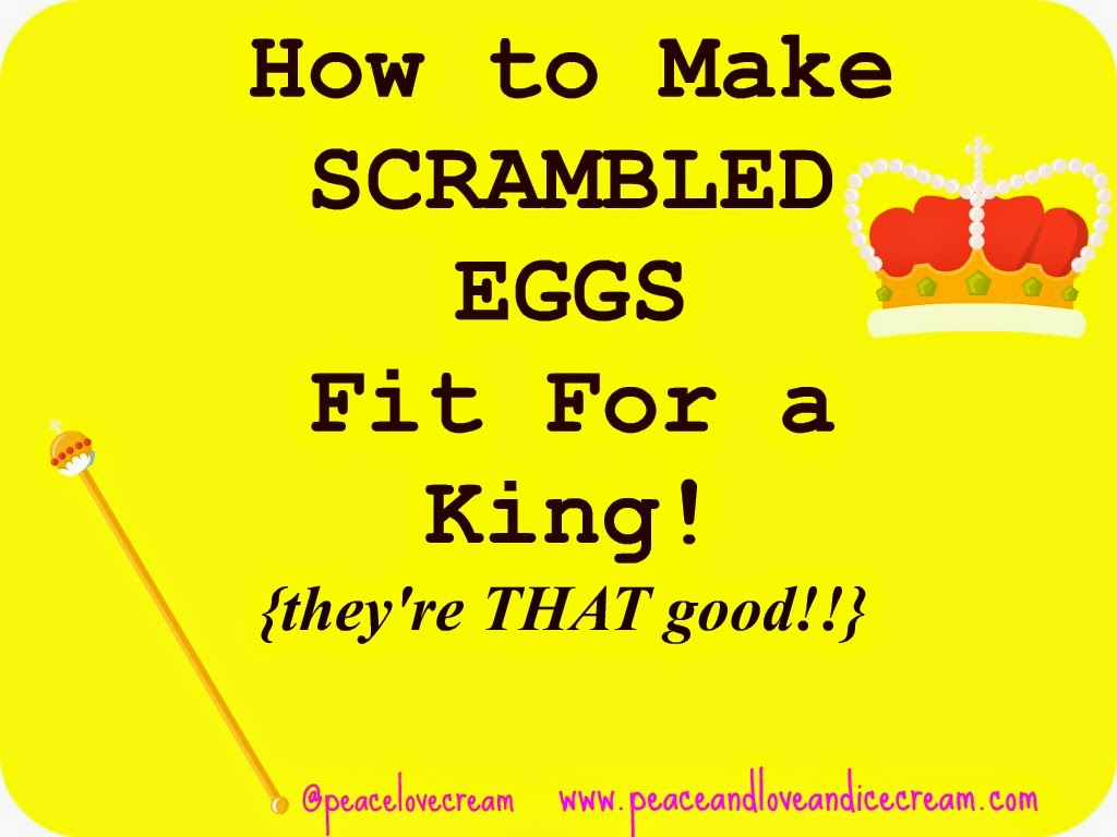 best scrambled egg recipe, so easy and delicious, breakfast for dinner