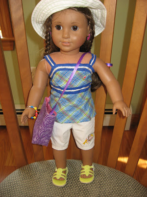 American Girl Doll Tote Bag ~ A Tiny Tote