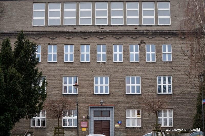szkoła zespół szkół Romuald Gutt Państwowa Szkoła Handlowa Warszawa Powiśle