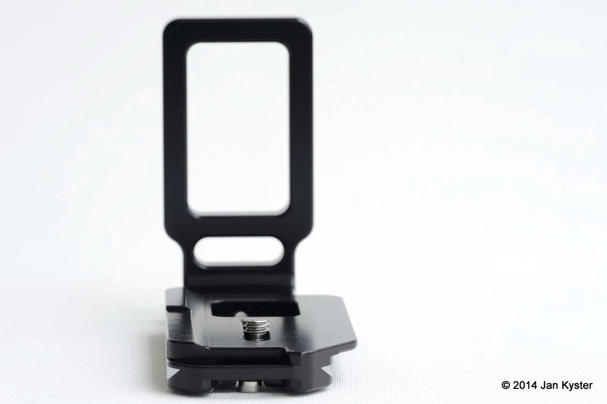 Hejnar ND800 Modular L Bracket end view