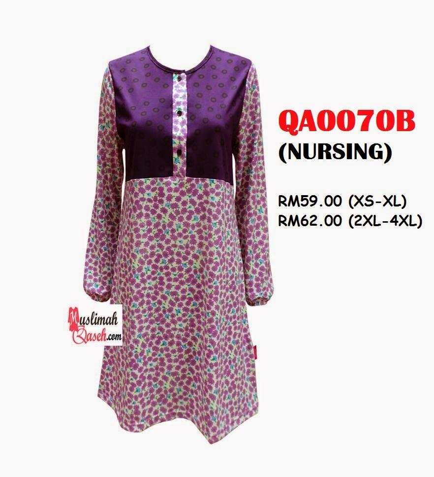 T-Shirt-Muslimah-Qaseh-QA0070B