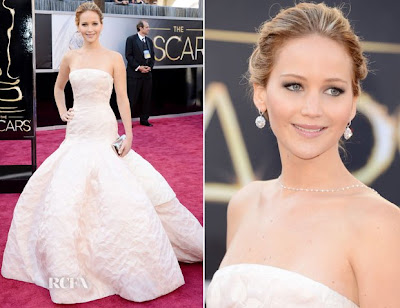 Jennifer Lawrence Oscar Award 2013
