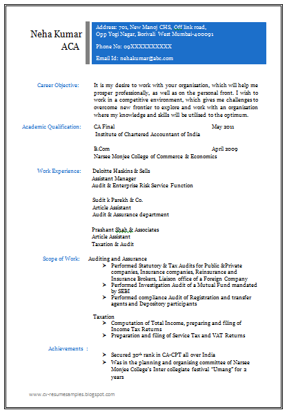 free download professional resume format for all me resume format
