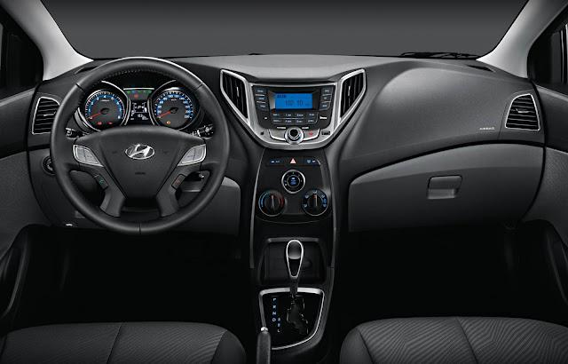 Hyundai HB20 Sedan - painel