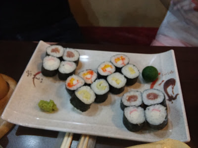 My Maginhawa Foodie Diaries: Red Hana, Sushi Restaurant, Matalino St - Quezon City