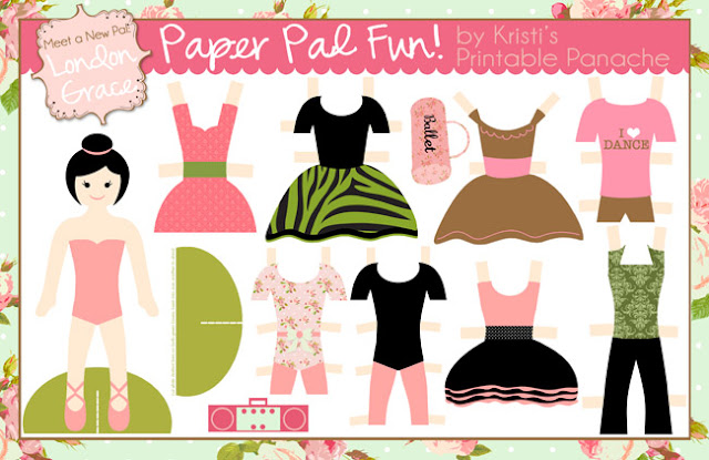 Paper Doll | Munchkins And Mayhem
