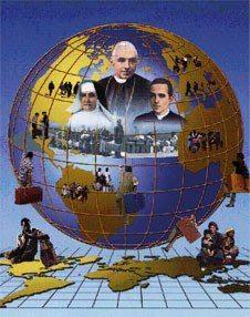 """""""O mundo anda depressa e nós não podemos parar"""". Beato J.B.Scalabrini"""