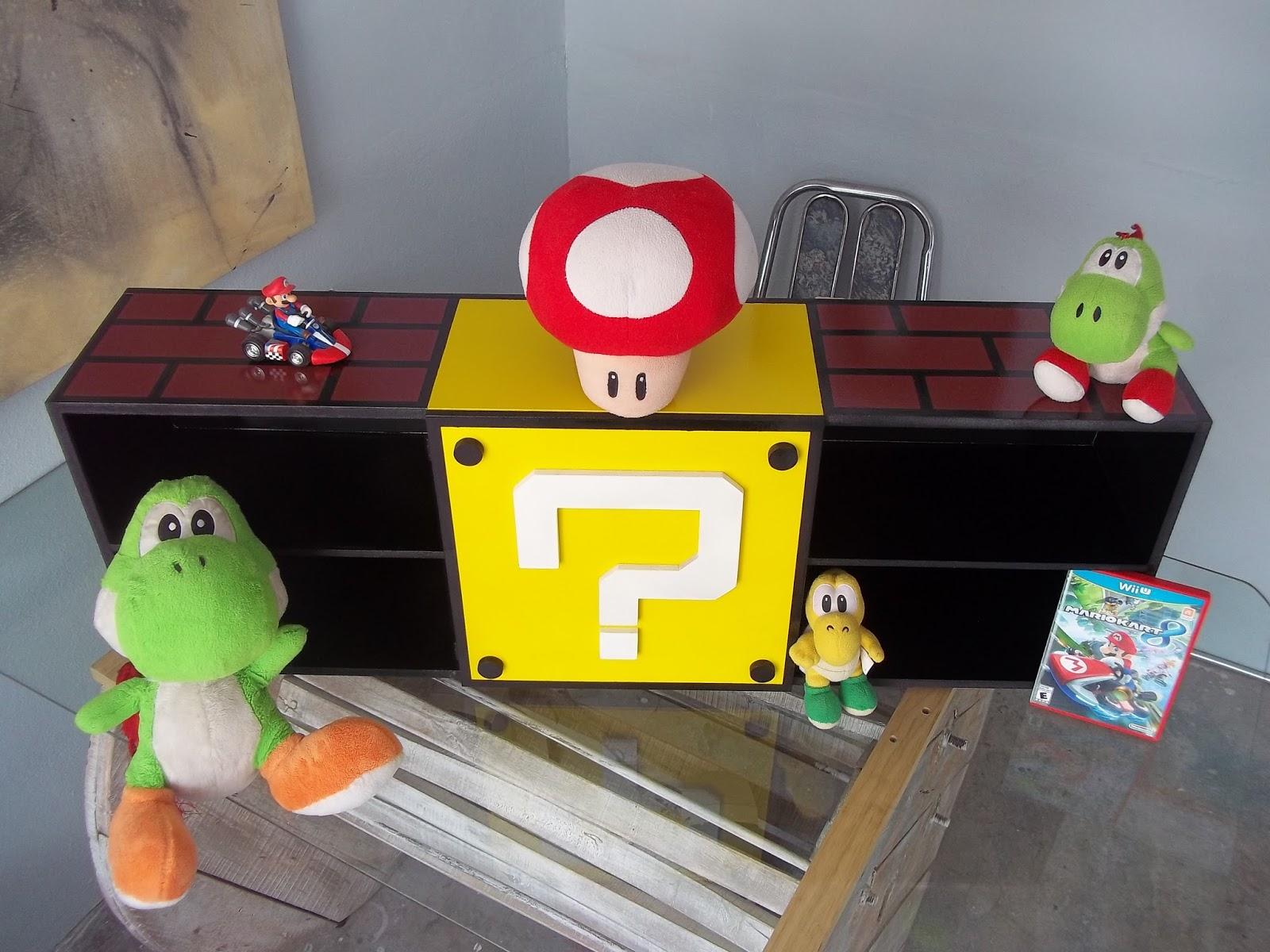 Frankorona 39 s workshop mueble mario bros para video juegos for Muebles mario pinofranqueado