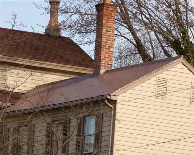 Bronze Metal Roof In Chesapeake City Md Roof Menders Inc