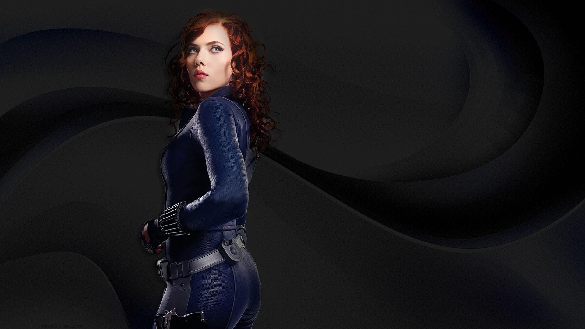Scarlett Johansson images Black Widow Iron Man Widescreen