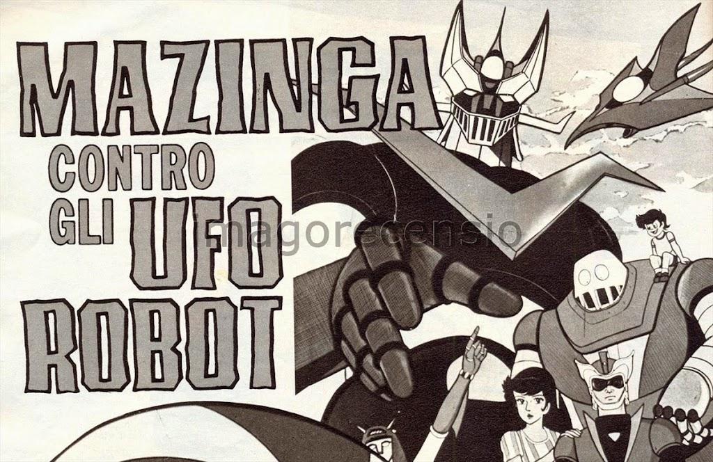Imago recensio quot mazinga contro gli ufo robot il