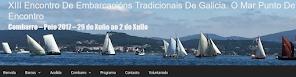 XIII Encontro de Embarcacións Tradicionais de Galicia.