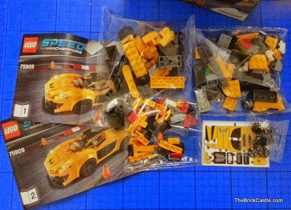 LEGO Speed Champions McLaren P1 set 75909 review open box