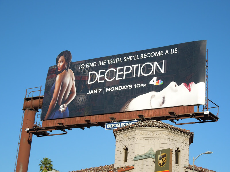 Deception season 1 billboard