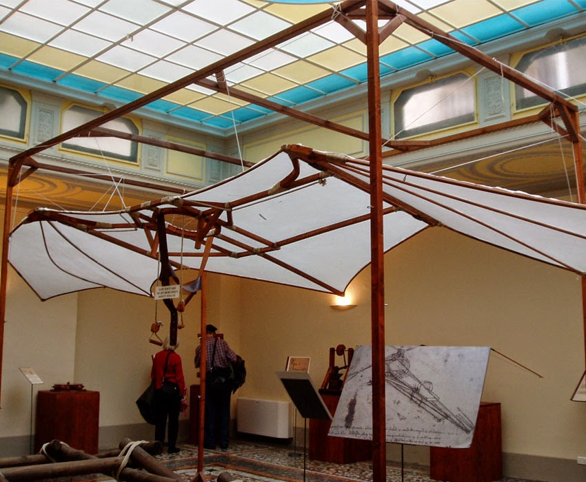 Leonardo Da Vinci's Ingenious Inventions - Flying Machine
