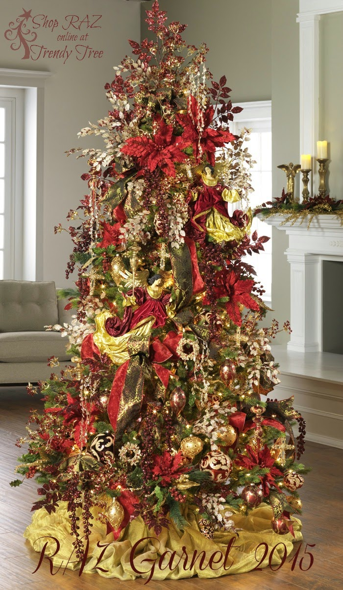 Raz christmas decorations trendy tree sneak peek of
