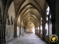 Toul - Cathédrale Saint-Etienne : Galerie sud du cloître