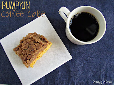 Recipe: Pumpkin coffee cake
