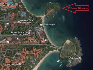 Pulau Nusa Dharma dan Pulau Peninsula