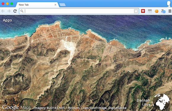 Earth View New Tab Page Powered By Google Maps - Current google maps satellite