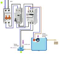 Conexion bomba centrifuga monofasica