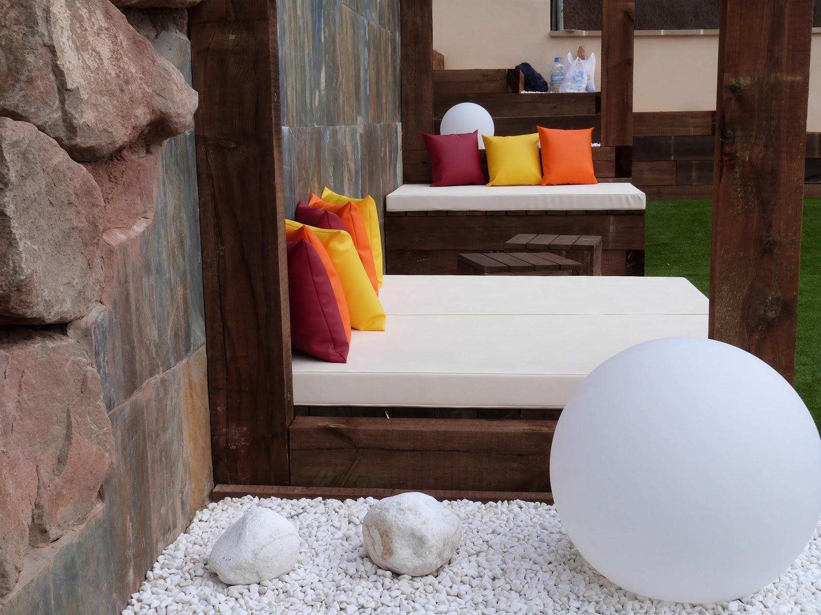 Escoger espumas para cojines de exterior ideas aladro i - Cojines para exterior ...