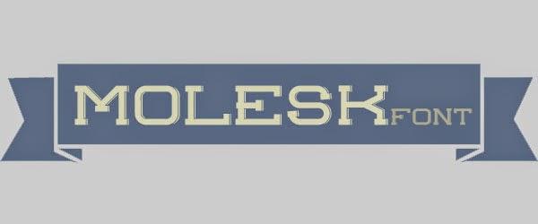 http://uppertype.net/fonts/molesk.htm