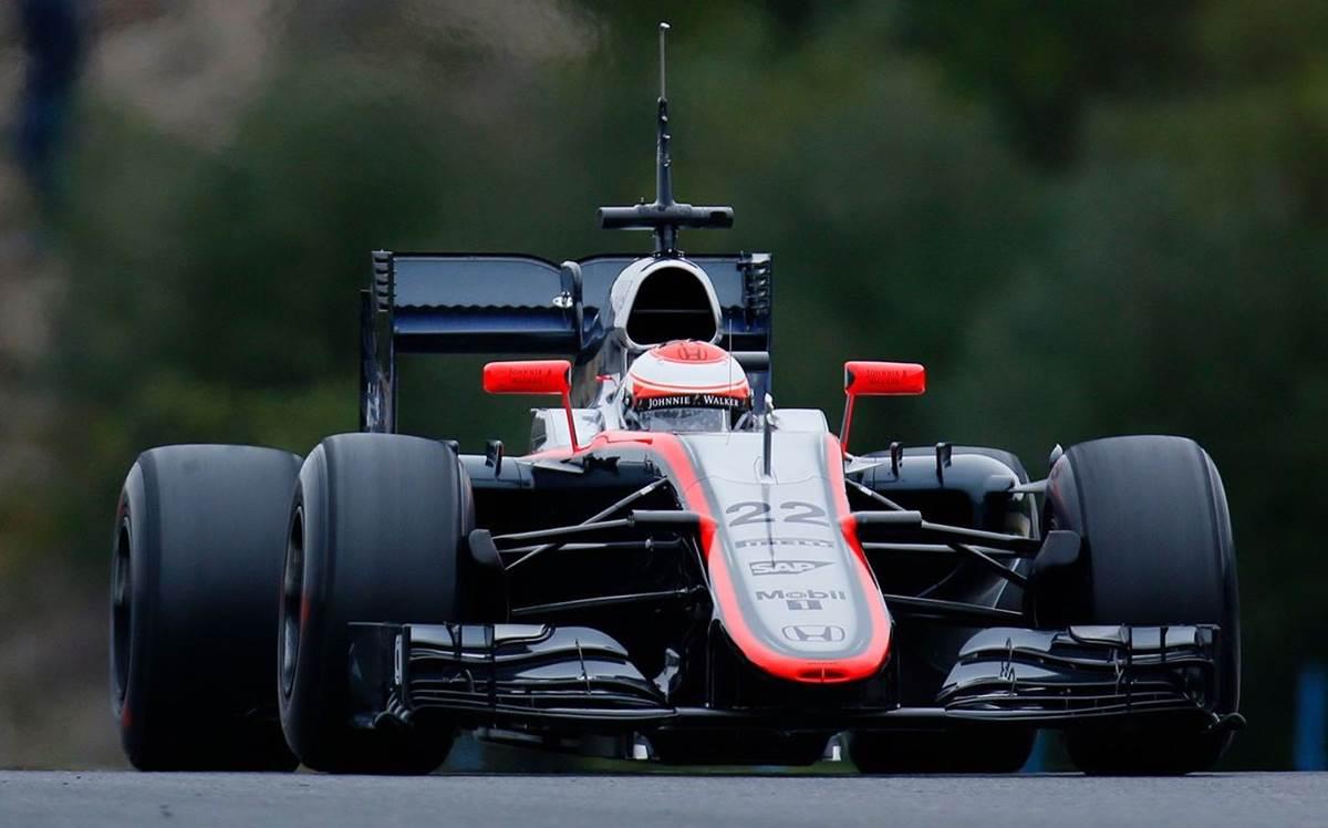 McLaren Honda - Jenson Button
