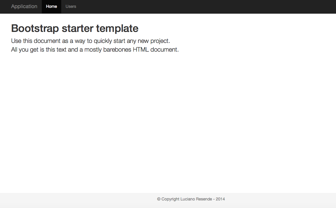 Node.js : Building HTML site template using EJS and Layouts ...