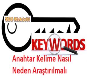 Anahtar Kelime Nasıl Neden Araştırılmalı