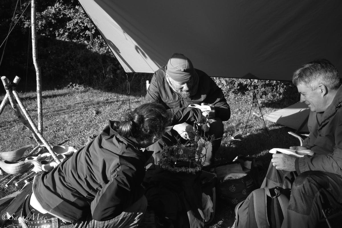 wilderness gathering+wasp king+jon mac+spoon carving demonstration