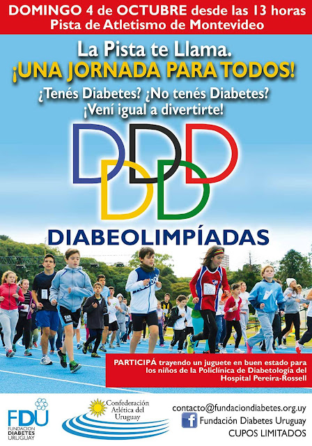Pista - Diabeolimpíadas de la Fundación Diabetes Uruguay (04/oct/2015)