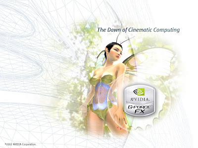 NVIDIA Geforce FX Wallpapers - The Dawn Of Cinematic Computing