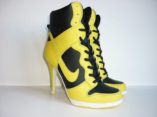 Nike High Heel Jordan Fusion Shoes