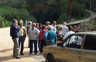 SALOMAO e MORADORES na PONTE DO MADRUGA em 26 setembro 2013