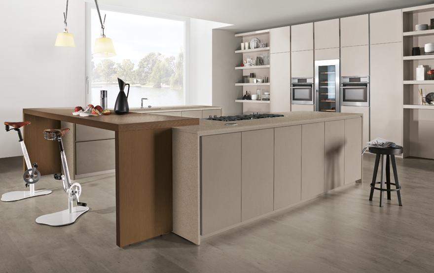 20 formas de incorporar una mesa en la cocina   cocinas con estilo