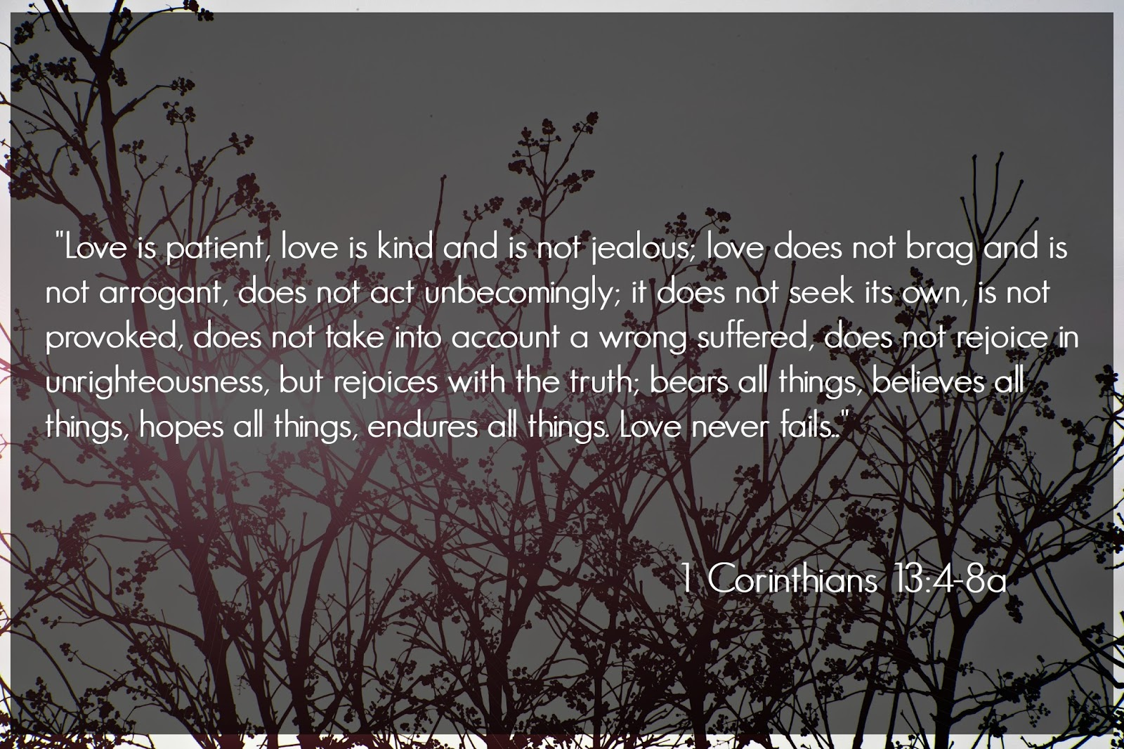Love Is Patient | Love Defined