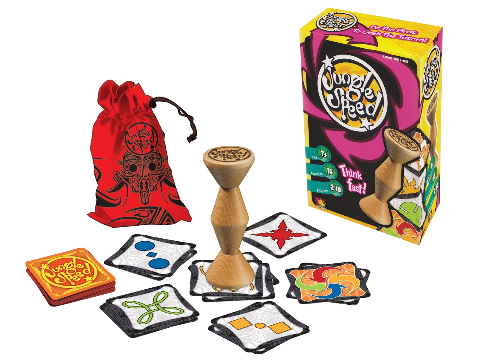 once people start to recover from lunch and are looking for something fun to do together jungle speed a dexterity based party card game - Christmas Card Games
