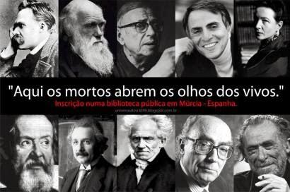 """""""Espíritos grandiosos sempre encontraram oposição violenta de mentes medíocres."""" Albert Einstein"""