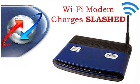 BSNL WiFi Modem Price Slashed with 5 years AMC
