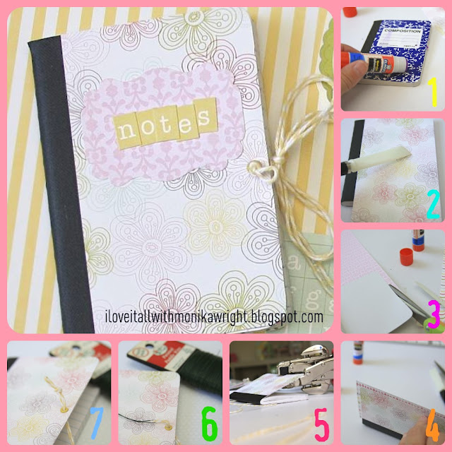 Composition Notebook Tutorial | iloveitallwithmonikawright.com