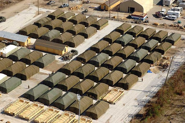 Temporary Living Shelters : Julian omidi hurricane sandy coverage