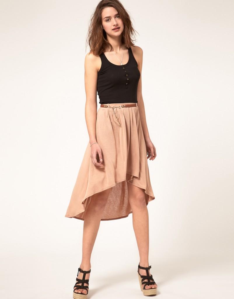 robe longue derriere courte devant asos la mode des robes de france. Black Bedroom Furniture Sets. Home Design Ideas
