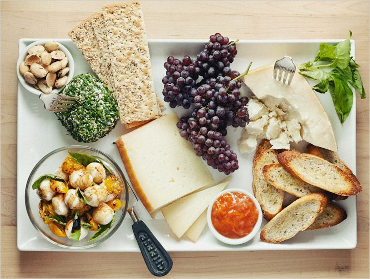 Your Southern Peach The Classic Cheese Plate: ina garten appetizer platter
