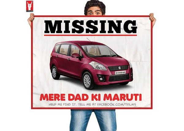 Mere Dad Ki Maruti Shoot stills