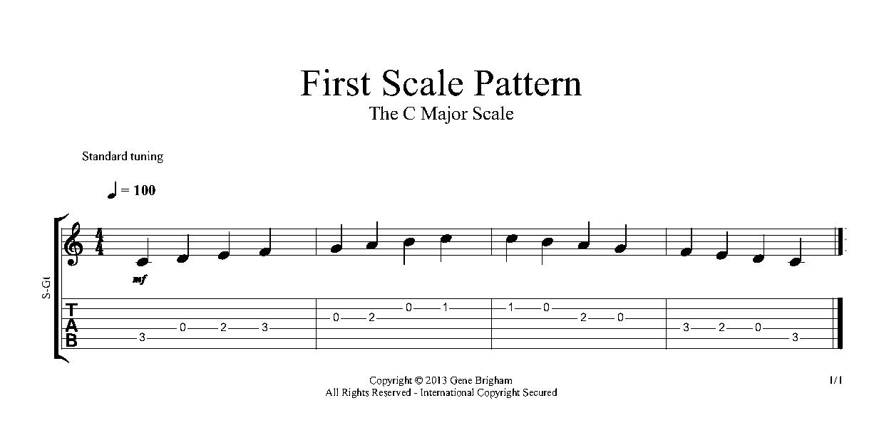 Beginning Guitar Notes Of The 5th 6th Strings